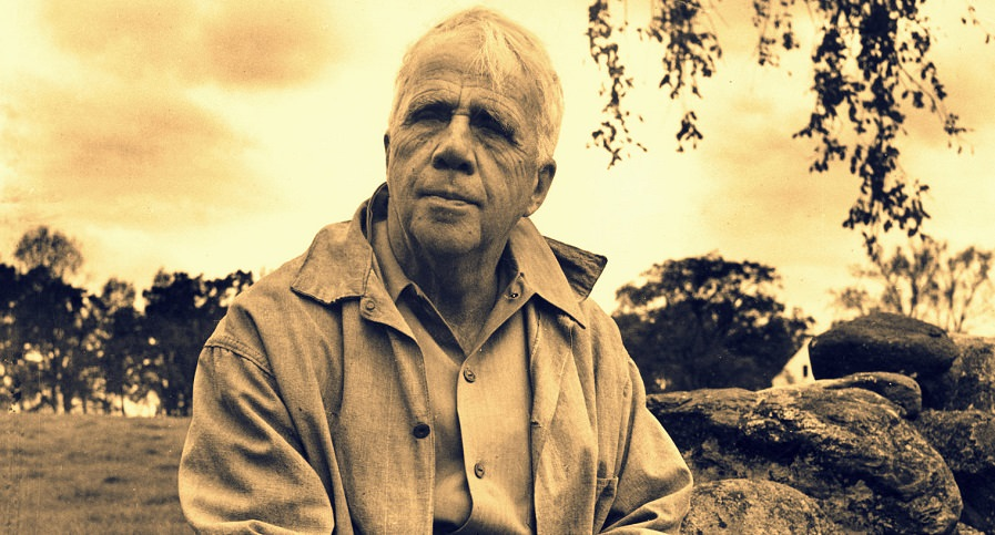 Robert Frost Portrait